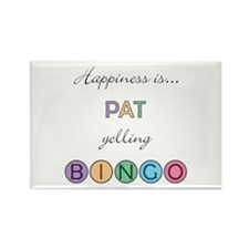 Pat BINGO Rectangle Magnet