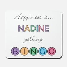 Nadine BINGO Mousepad