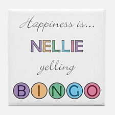 Nellie BINGO Tile Coaster
