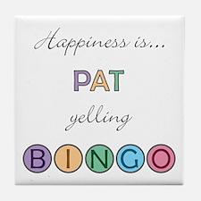 Pat BINGO Tile Coaster