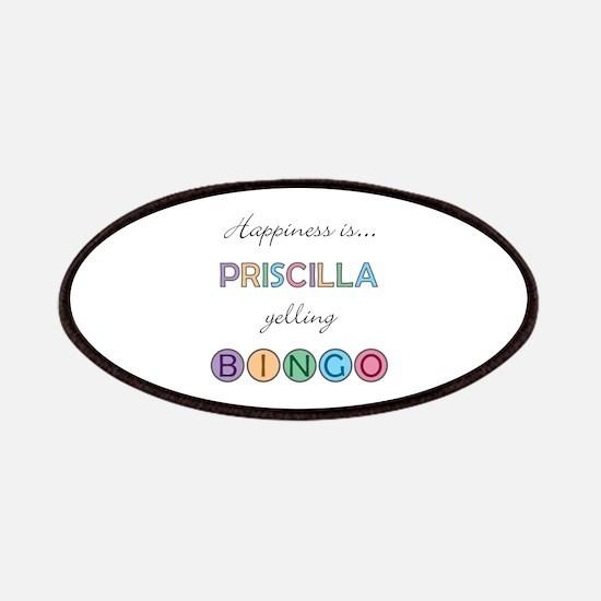 Priscilla BINGO Patch