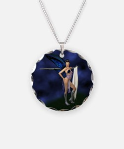Color Guard Fairy Necklace