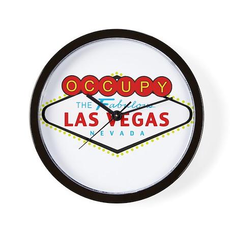 Occupy Las Vegas Wall Clock