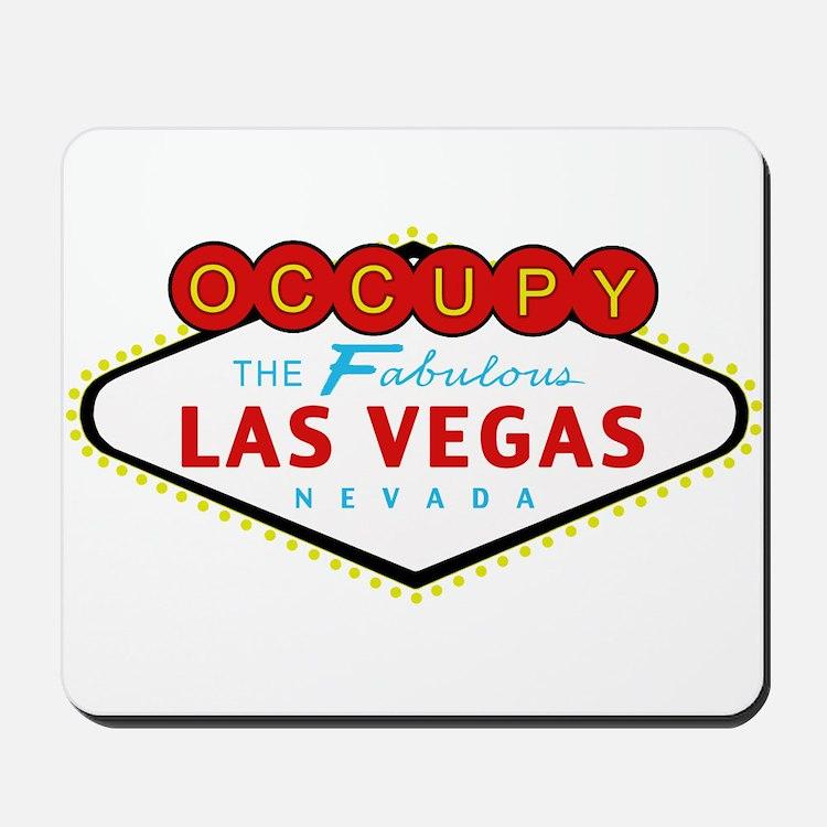 Occupy Las Vegas Mousepad