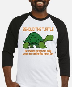 Behold the Turtle Baseball Jersey
