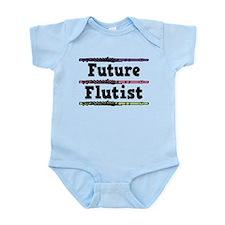 Future Flutist Music Onesie
