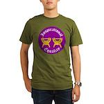 Inspirational Equality Organic Men's T-Shirt (dark