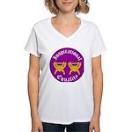 Inspirational Equality Women's V-Neck T-Shirt