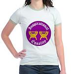 Inspirational Equality Jr. Ringer T-Shirt