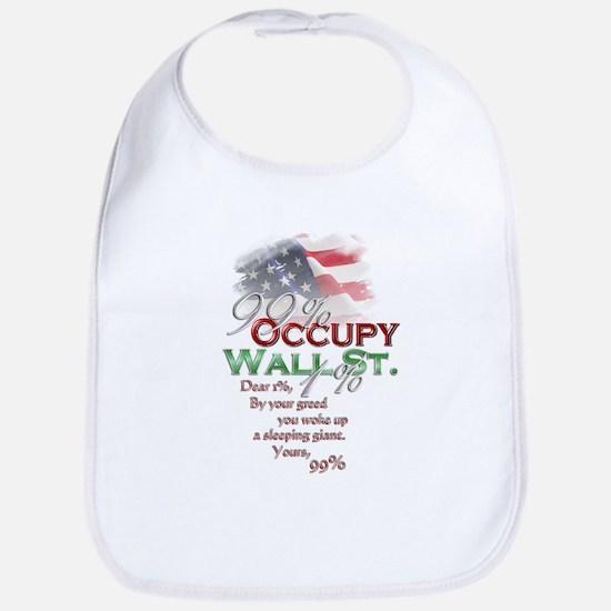 Occupy Wall St. Bib