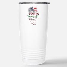 Occupy Wall St. Travel Mug