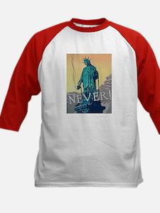 Statue of Liberty Freedom (Front) Kids Baseball Je