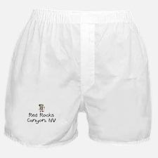 Hike Red Rocks Canyon (Boy) Boxer Shorts
