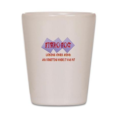 Fibro Fog Shot Glass