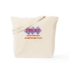 Fibro Fog Tote Bag