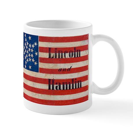 Lincoln and Hamlin Mug