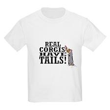 Real Corgis Kids T-Shirt