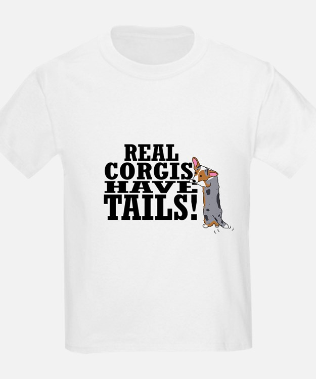 Real Corgis Kids T-Shirt