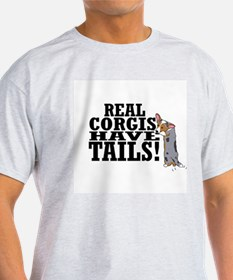 Real Corgis Ash Grey T-Shirt