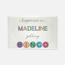 Madeline BINGO Rectangle Magnet
