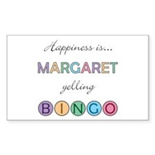 Margaret BINGO Rectangle Decal