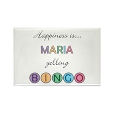 Maria BINGO Rectangle Magnet