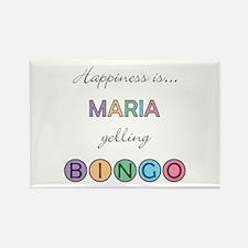 Maria BINGO Rectangle Magnet