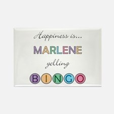 Marlene BINGO Rectangle Magnet