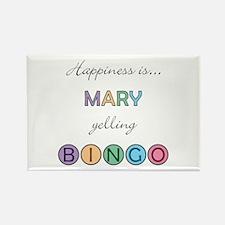 Mary BINGO Rectangle Magnet