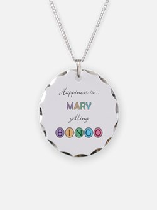 Mary BINGO Necklace