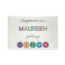Maureen BINGO Rectangle Magnet