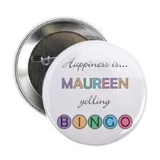 Maureen BINGO Button