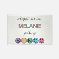 Melanie BINGO Rectangle Magnet