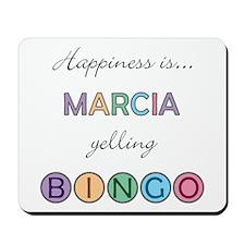 Marcia BINGO Mousepad