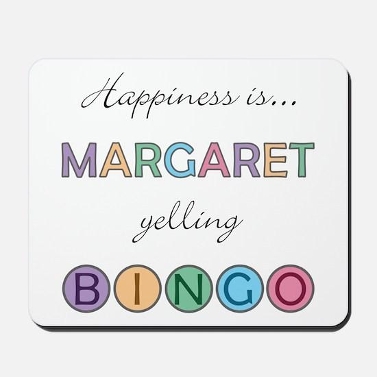 Margaret BINGO Mousepad