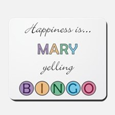 Mary BINGO Mousepad