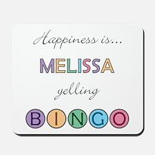Melissa BINGO Mousepad