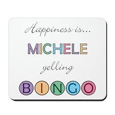 Michele BINGO Mousepad