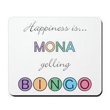 Mona BINGO Mousepad
