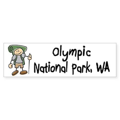 Hike Olympic Nat Park (Boy)