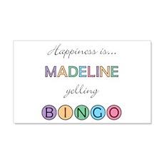 Madeline BINGO 22x14 Wall Peel