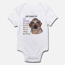 All about Lab's Infant Bodysuit