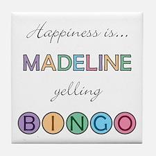 Madeline BINGO Tile Coaster