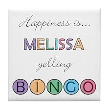 Melissa BINGO Tile Coaster
