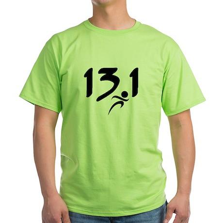 13.1 run Green T-Shirt