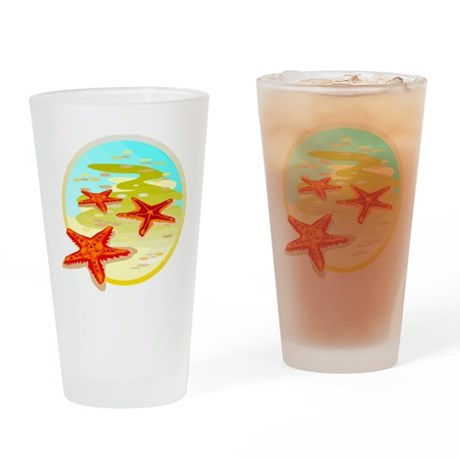 STARFISH {2} Drinking Glass