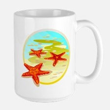 STARFISH {2} Large Mug
