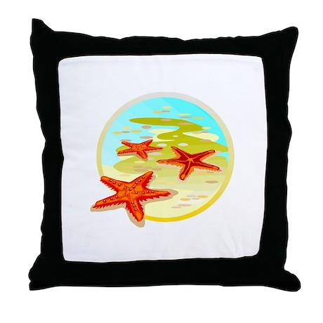 STARFISH {2} Throw Pillow