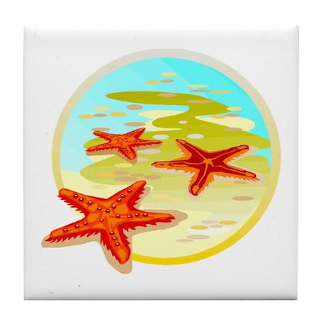 STARFISH {2} Tile Coaster