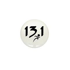 13.1 run Mini Button (10 pack)